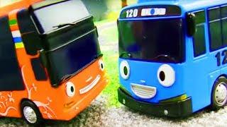 Видео для мальчиков - Автобус Тайо сдает экзамен по вождению