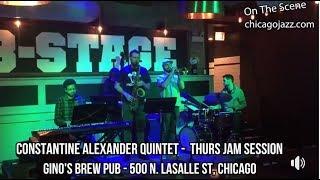 ON THE SCENE- Gino's East Brew Pub Thursday Jazz Jam Session!