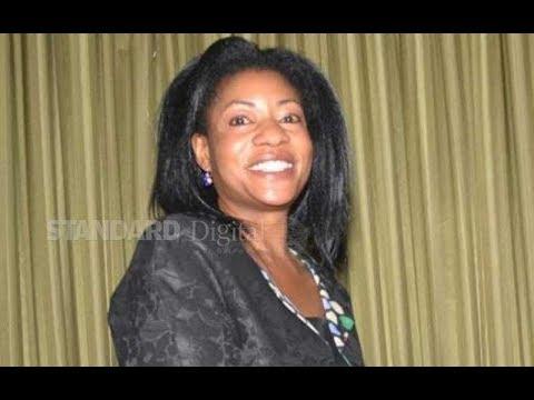 Widow of former Vice President Michael Wamalwa Kijana,Yvonne Wamalwa passes on