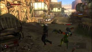 Witcher 2 Action 2@ 1366x768 @ TimelineX 3820TG