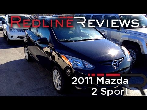 2011 Mazda 2 Sport Review, Walkaround, Exhaust