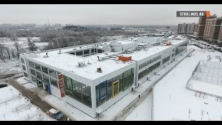 Школу-гигант построили в Новой Москве