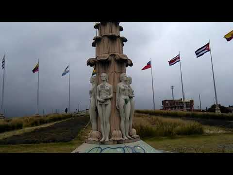 The Monument to the Flags in Bogota recalls the OAS