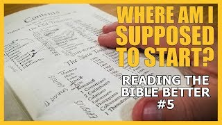 What Part of the Bible Should You Read First?