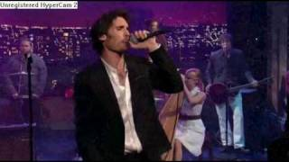 The Wind Blows The All American Rejects (Live On Letterman)