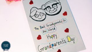 Happy Grandparent's Day Handmade Card | Grandparents Day - How to draw Grandparents