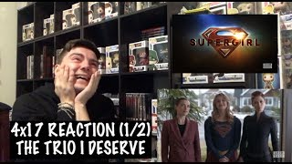 SUPERGIRL - 4x17 'ALL ABOUT EVE' REACTION (1/2)