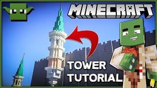 Minecraft Tower Tutorial Minecraftvideos Tv
