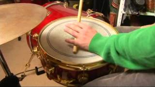 Drum Stick Patterns for Bossa Nova: 2-3 Clave