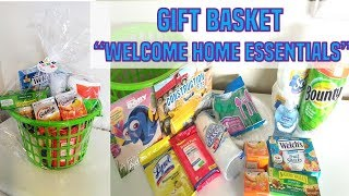 Gift Basket Welcome Home Essentials (New Neighbors Or Friends Moving)