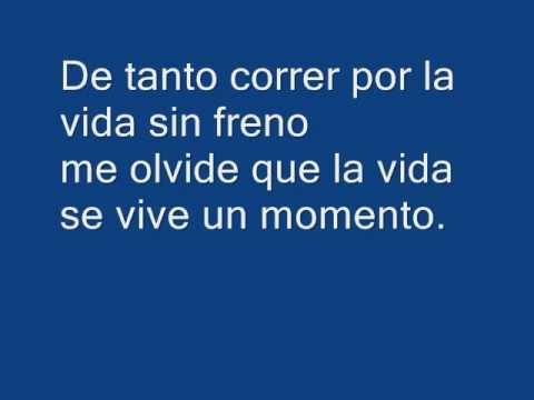 Me Olvide De Vivir - Julio Iglesias (with on-screen lyrics)
