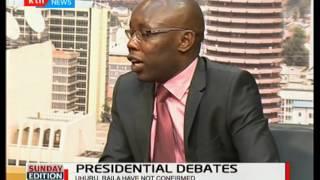 Hesbon Owilla gives his take on Raila Odinga and Uhuru's turn up for the presidential debate