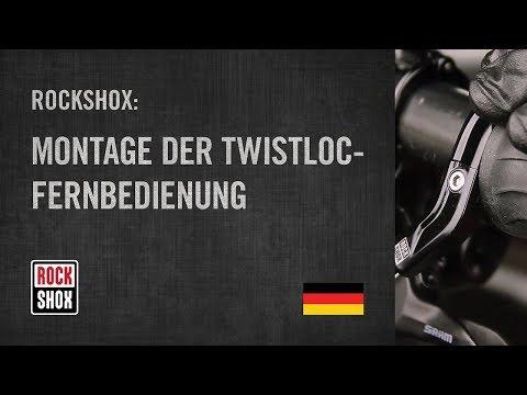 ROCKSHOX: Montage der TwistLoc-Fernbedienung