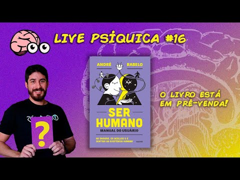 LIVES PSÍQUICAS #16 - BATE PAPO E PRÉ-VENDA DO LIVRO!