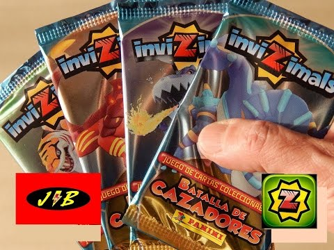 INVIZIMALS BATALLA DE CAZADORES UNBOXING CARTAS