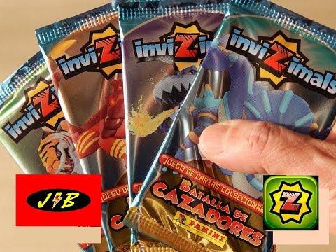 INVIZIMALS BATALLA DE CAZADORES UNBOXING CARTAS