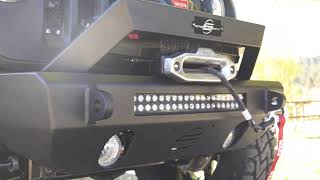 Steelcraft: Stubby Replacement Bumper for Jeep Wrangler JK and JL
