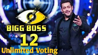 How many time we can send vote in bigg boss 12 | voot app hack