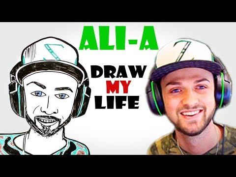 Draw My Life : Ali-A