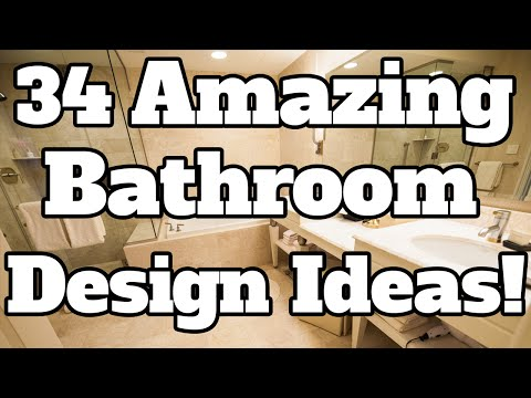 34 Amazing Bathroom Design Ideas! Bathroom Remodel Plans, Ideas, & Examples