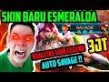 SKIN BARU ESMERALDA KUALITAS SKIN LEGEND 3 JT AUTO SAVAGE no clickbait Mobile Legends