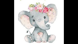 Elephant Baby Shower Decorations