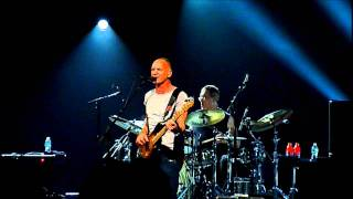 Sting - Back to Bass Tour - All This Time & Every Little Thing She Does Is Magic - Miami, 11/12/11
