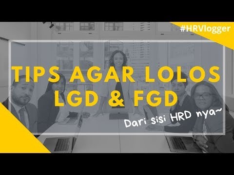 TIPS LOLOS FGD & LGD DARI SISI HRD ! (2019) - HRVlogger