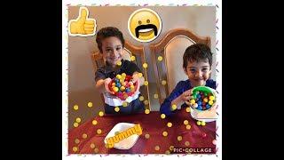 bubble gum challenge!!kids challenge.  gumball challenge!!!!