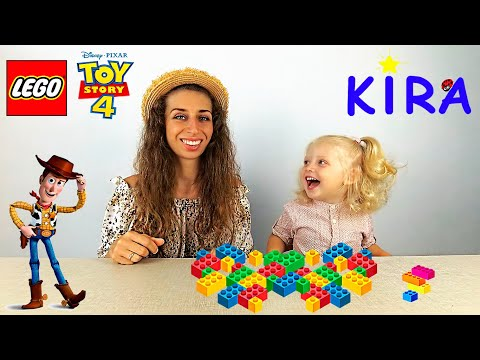 Lego Toy Story 4 / 10766 Woody & RC Review / Unboxing and play