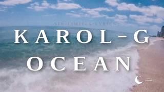 Karol G   Ocean (letra) (Lyrics)