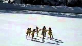 Central Park Ice-beginner team