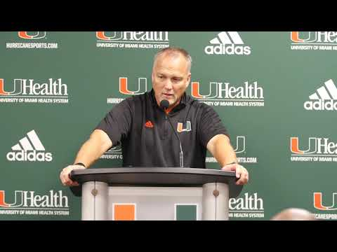 Mark Richt | Post Game Presser vs Virginia | 11.18.17