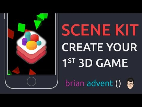 iOS Swift Tutorial: Create a simple 3D Game with Scene Kit