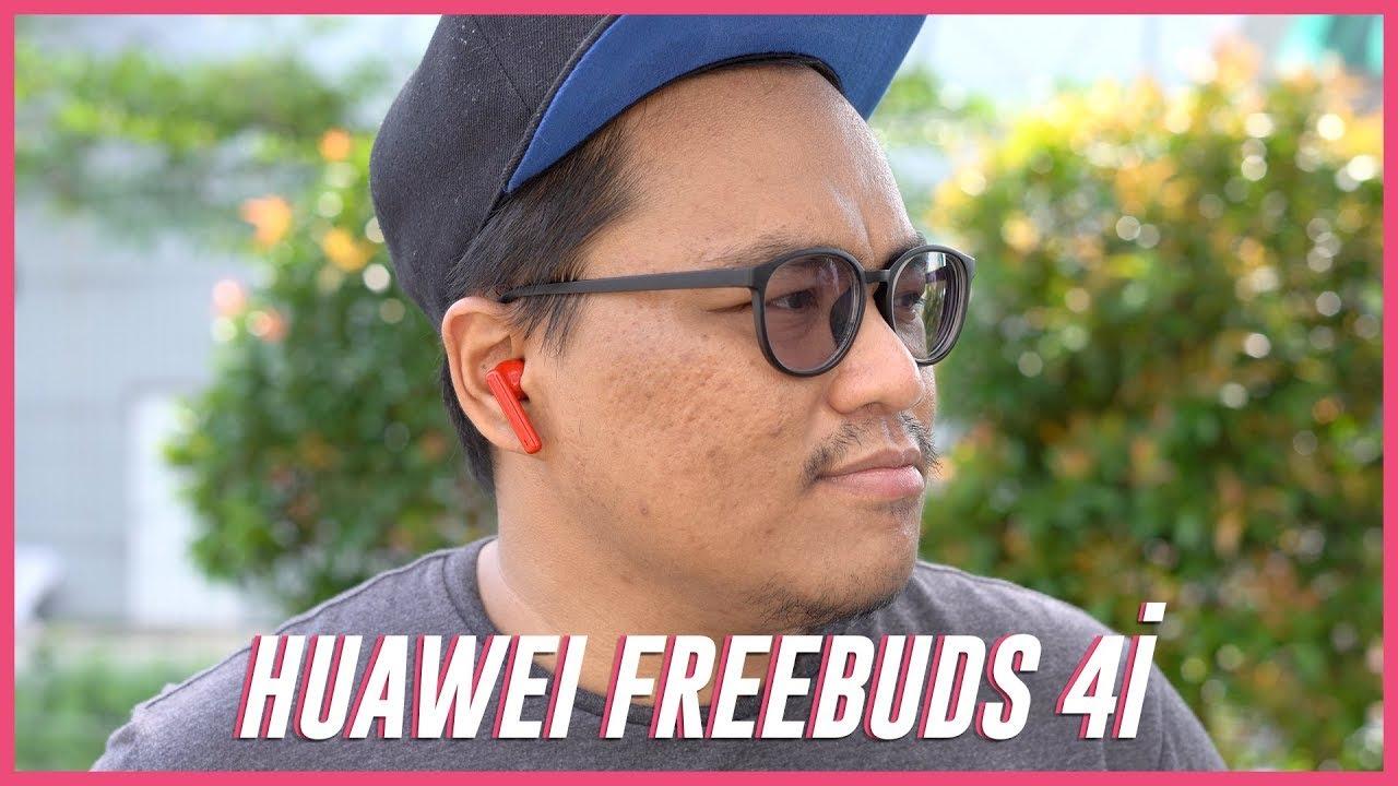 HUAWEI FreeBuds 4i Berwarna Honey Red Edition
