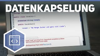 Download Youtube: Datenkapselung in Java (private vs public) - Objektorientierte Programmierung mit Java 4