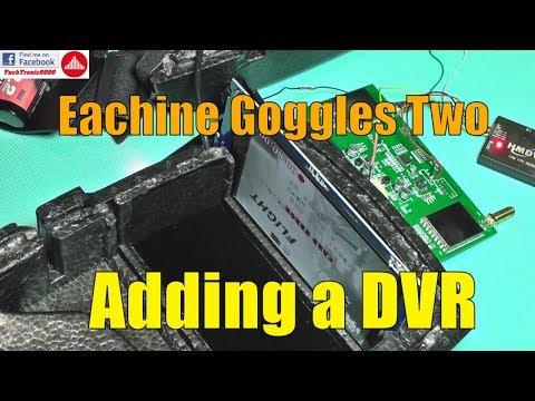 Eachine Goggles Two Teardown & DVR Install