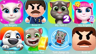 My Talking Tom 2,Tom,Hank,Angela,LittleKitten,Candy,Jump,Jump Up,Piere,Ben,Camp,Jetski,Ginger,Gold