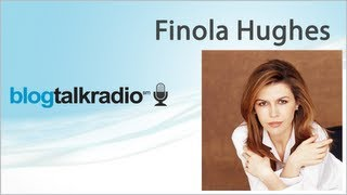 Interview Finola Hughes � la radio