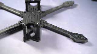 Assembling a FPV Freestyle Frame   Tmotor FT5