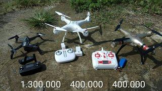 Test drone mjx bugs 5w 4k - Syma x8pro - Syma x8hw