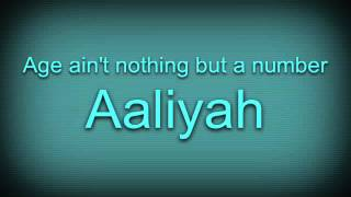 Aaliyah - Age Ain't Nothing But a Number [Male Version]