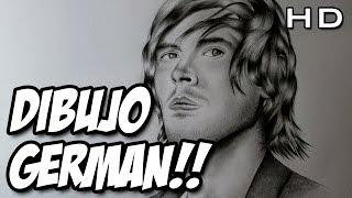 Dibujando a Germán Garmendia, dibujo de HolaSoyGerman