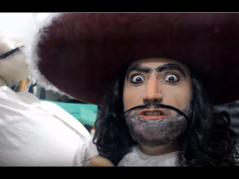 Maquillaje capitán Garfio