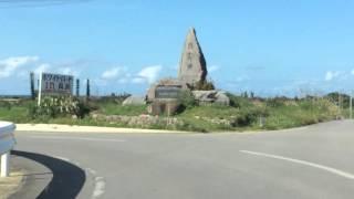 沖縄観光、今帰仁村のパワースポットにある宿と沖縄料理の店と今帰仁スイカの直売所を紹介