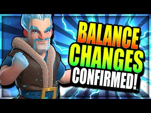 NEW BALANCE CHANGE CONFIRMED!! ICE WIZ BUFF BROKEN!? Clash Royale Balance Discussion & Speculation Mp3