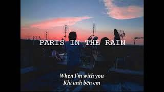 [ Vietsub + Lyrics ] Paris In The Rain   Lauv