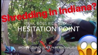 Jeff Lenosky Trail Boss Follow Along: Hesitation Point Brown County State Park Nashville, IN