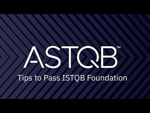 Tips to Pass ISTQB Foundation - YouTube