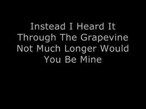 Marvin Gaye - I Heard It Through The Grapevine video